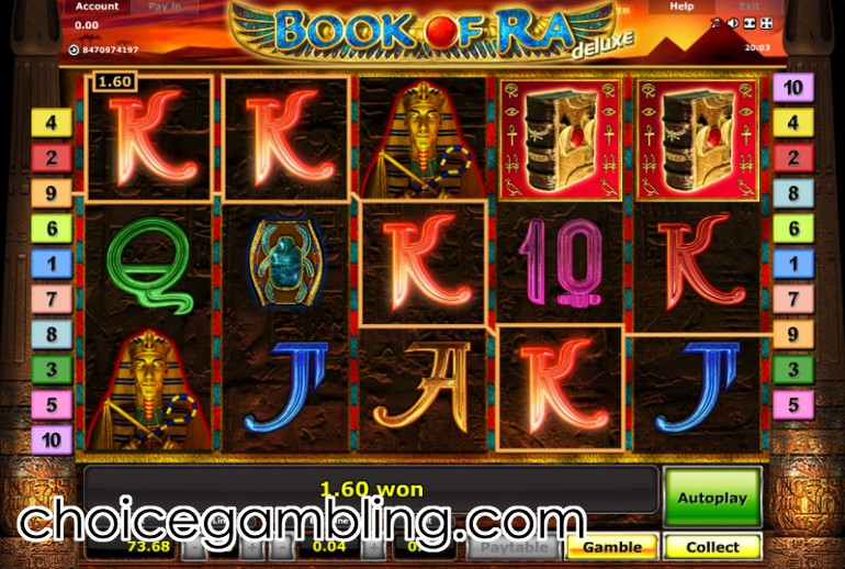 casino betting online game book of ra