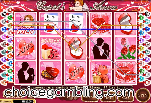 Cupids Arrow Slot™ Slot Machine Game to Play Free in WGSs Online Casinos