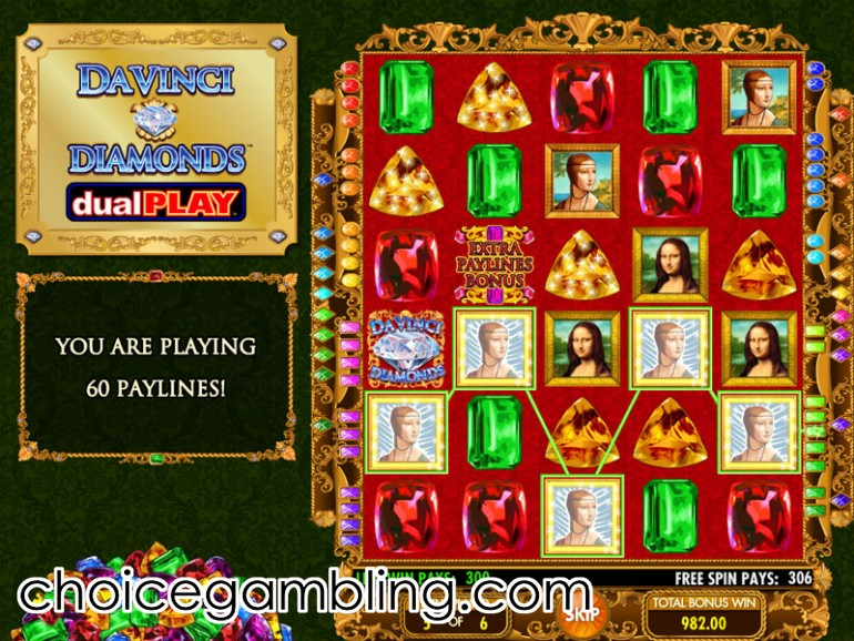Da Vinci Diamonds Slot Machine - Play Free IGT Slots Online