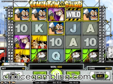 Demolition Squad Slot Machine Online ᐈ NetEnt™ Casino Slots