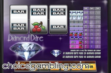 Diamond Dare Slot Machine Online ᐈ Saucify™ Casino Slots