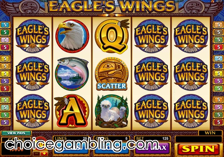 Eagles Wings Slot Machine Online ᐈ Microgaming™ Casino Slots