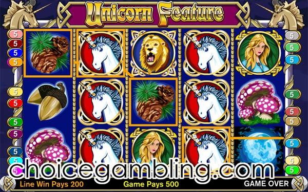 free online slots enchanted unicorn