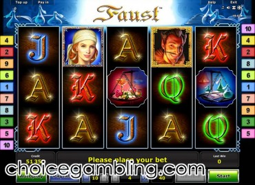 de online casino faust slot machine