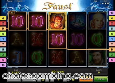 slots online casino faust slot machine