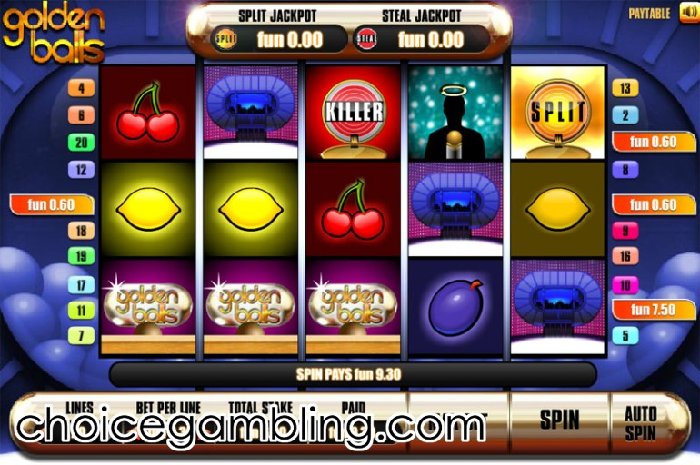 Golden Balls™ Slot Machine Game to Play Free in Endemol Gamess Online Casinos