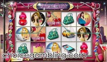 casino city online szizling hot