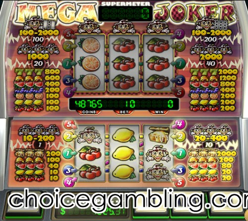 Mega joker online slot machine