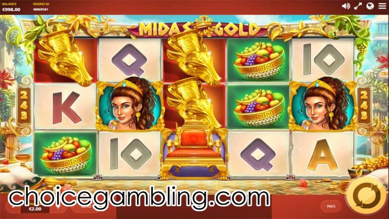 Midas Gold Slot Machine