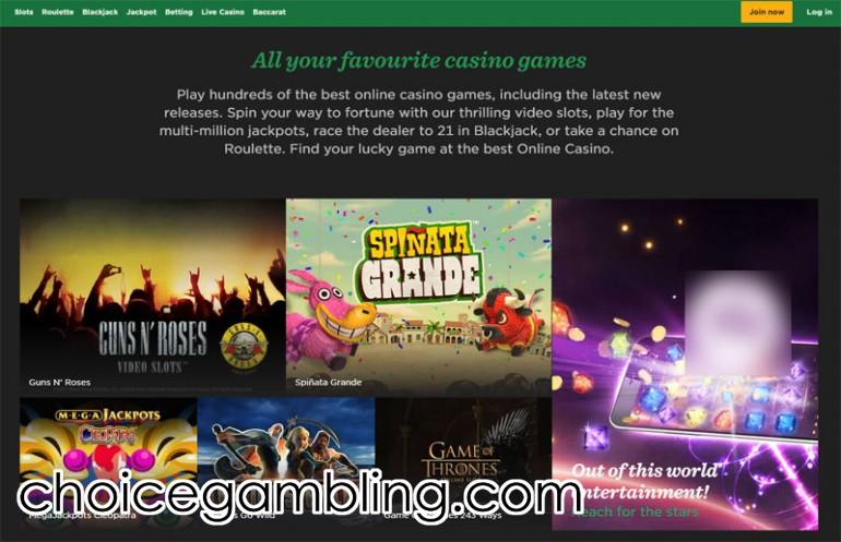 Online slots mr green