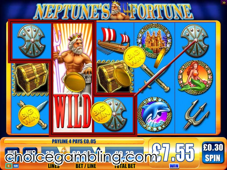 neptune slot machine