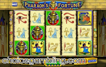 Pharaoh's Fortune Slot Machine by IGT – Free to Play Online