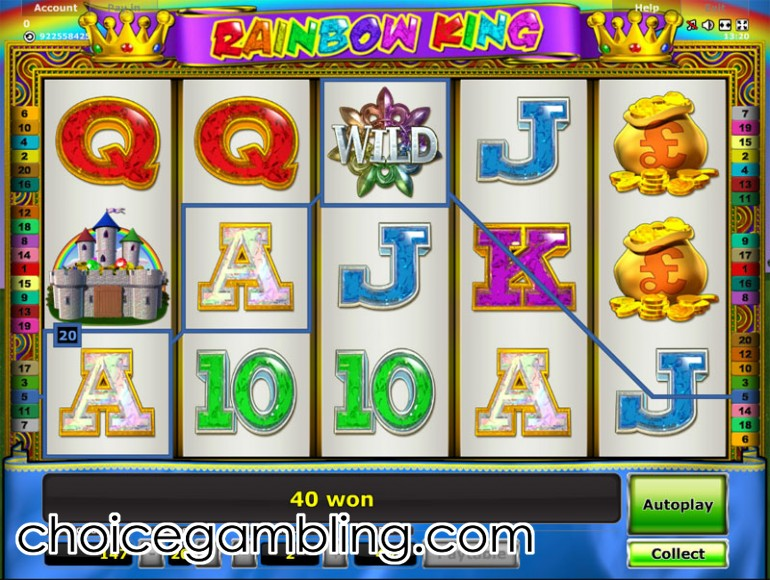 casino online slot rainbow king