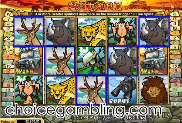 Safari slots online