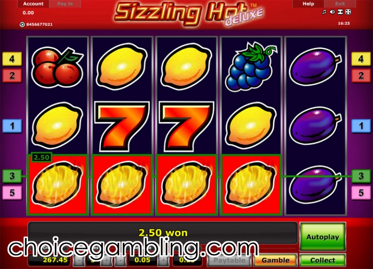 casino online slot machines sizzling hot deluxe kostenlos