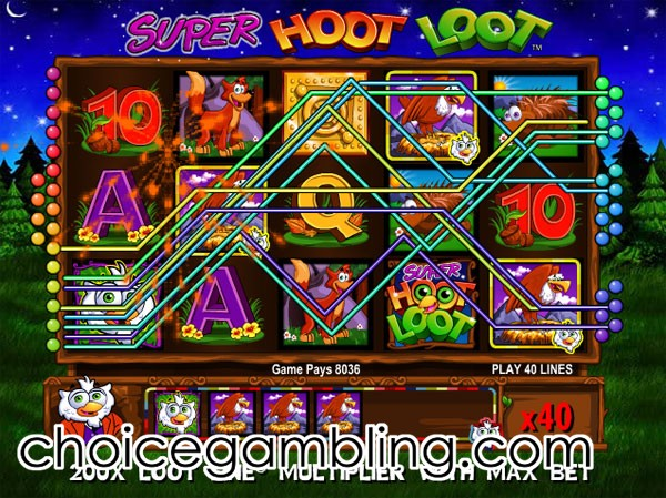 free slots hoot loot