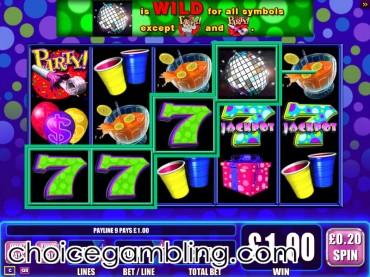 Super Jackpot Party slot machine