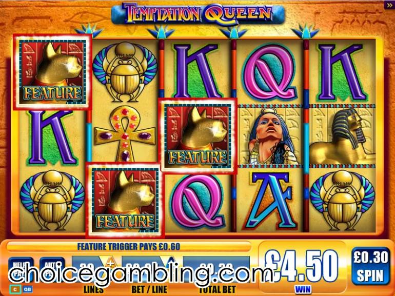 Queen's knight slot online