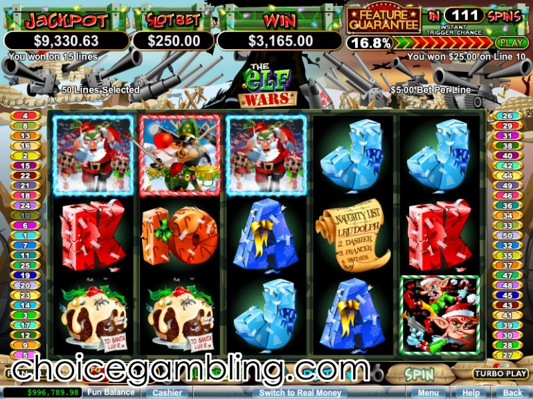 The Elf Wars Slot Machine Online ᐈ RTG™ Casino Slots