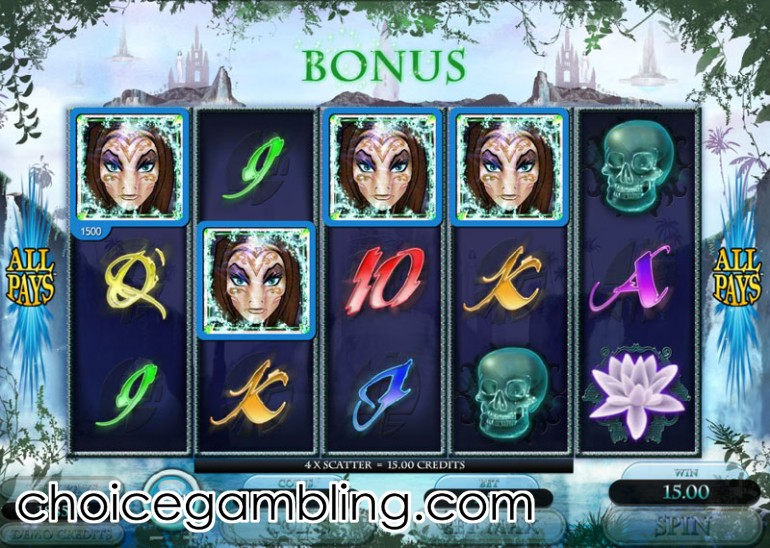 The Forgotten Land of Lemuria Slot - Play Online for Free