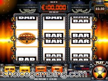 play meltdown slot game