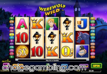 Werewolf Wild slot machine