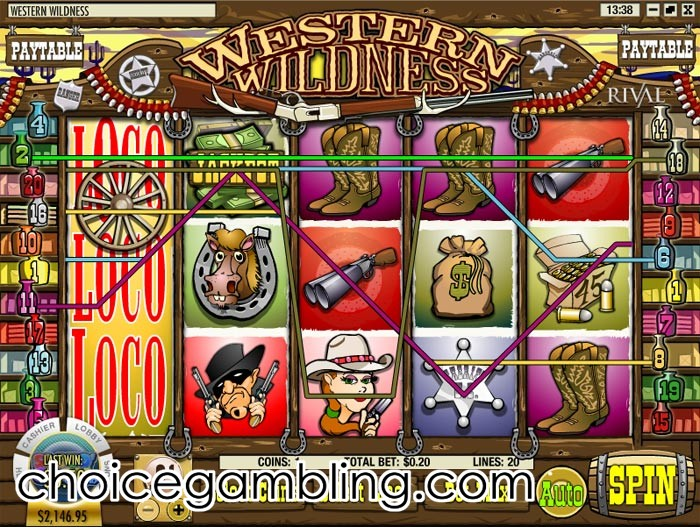 Western Wildness Slot Machine - Play Online for Free
